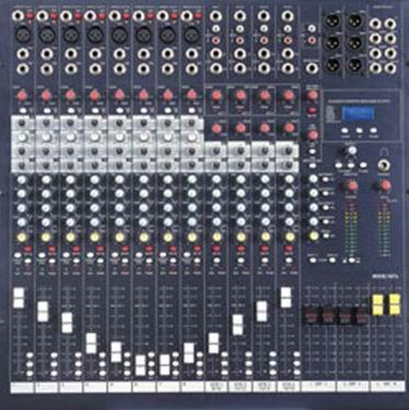 四编组调音台电路板抄板及双面smt贴片加工
